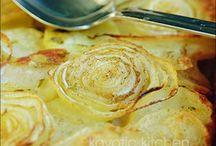 Potatoes - au Gratin, Scalloped