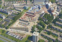 Slauerhoff / Het sierlijke nieuwbouwproject Slauerhoff met haar drie in het oogspringende gebouwen: Soleares, Saturnus en Serenade is het paradepaardje van Pré Wonen in het Haarlemse Delftwijk.