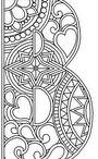 letras maiusculas zetangles