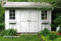 My secret garden shed..welcome but be at peace...