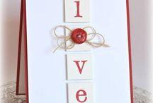 creazioni, San Valentino, Card ideas