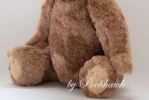 Выкройки мишек Тедди
