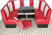 Ideas for the House / American Decor for the Home! 50s style decor!