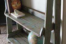 Decorare il legno - wood decoration / idee di riciclo creativo per uso di  pallet legnetti marini cassette di legno stecchi gelato