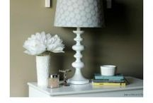 Home decor / Bedside table lamp