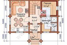 Планы небольших домов