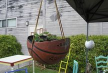 """Gardening / Check out some of these great """"upcycled"""" ideas for your garden."""