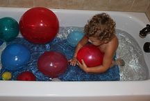 Bath time fun / by Play At Home Mom