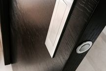 S800 Black Stained Oak / Modern style doors, fitting perfectly into a contemporary home!
