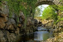 like a bridge over troubled water.... / bridges, architecture, stone bridge, over water, cross water, transport