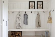 house inspiration: laundry and mud room / ideas for the basement laundry/bathroom combo and mudroom