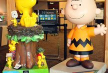 Peanuts In Santa Rosa / Charles Schulz, creator of the famous Peanuts comic, lived and worked in Santa Rosa.