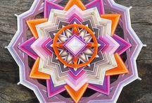 My Handwoven Mandalas Ojo de Dios