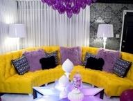 Interior - Purple & Yellow
