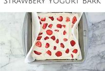 stawberry yoghurt snack