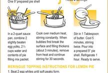 Easy to make recipes!