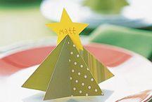 Addobbi tavola Natale e Pasqua