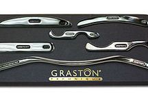Graston / Have scar tissue within your muscles, tendons, ligaments or fascia affecting your function?  Then the Graston Technique might just be right for you!