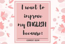 Motivation Monday / Motivation for English learners.  New post every MONDAY :)