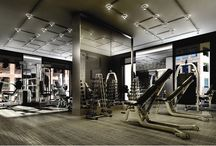 Workout rooms