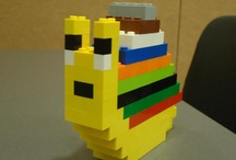 Collin is into Legos now / by Erin Knight