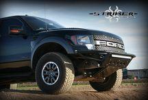 Ford Raptor Front Bumper Striker / Custom front bumper for a Ford Raptor Striker!