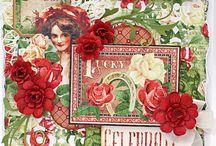 Cheery Lynn Designs / Handmade Cards, Tags, Layouts using Cheery Lynn Designs dies.