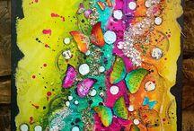 mixed media || art journals