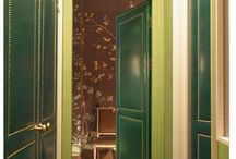 Upholstered doors/walls /  project with great impact