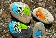 Stones i have painted