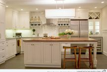 Kitchen wood counters