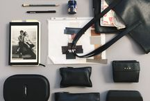 """5 Things In My Bag / """"What are you carrying in your bag?""""  Our Head of Design, Petra, often asks this question during interviews. She notes, """"You can tell a lot about a person by what they carry every day.""""   For the launch of our Casual Petra next week, we asked friends and the team to share what they carry in their bags."""