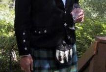 Scotish skilts and jackets for men