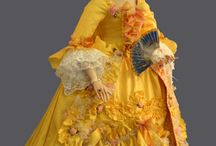 Historical models of the dolls / Barbie and Tonner