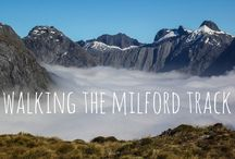 Greatest Hikes in New Zealand / All the best trails to hike and enjoy the natural beauty of New Zealand. / by Liz Carlson