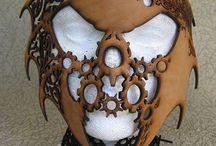 JM: leather masks