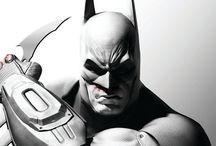 """Batman / Batman est un personnage de fiction appartenant à l'univers de DC Comics Créé par le dessinateur Bob Kane et le scénariste Bill Finger, il apparaît pour la première fois dans le comic book Detective Comics #27 (date de couverture : mai 1939). C'est un héros, à l'origine nommé """"The Bat-Man"""", qui a la particularité d'être sans pouvoirs. L'homme qui se cache sous ce costume est connu sous le nom de Bruce Wayne.  / by Monsieur Pop"""