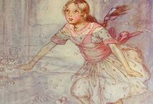 Alice in W:A.E. Jackson / Alice in wonderland (illustrator)
