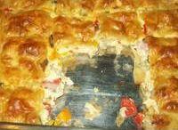 συνταγή κοτο- τυρο- λουκ-πιττα