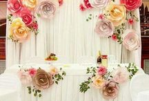 Paper Flowers Dinding