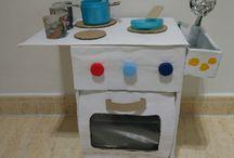 Cuina amb material reciclat