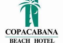 """COPACABANA / Logo imagotipo varios del Hotel Copacabana Beach Acapulco """"Somos la mejor opción para TU diversión""""  Reserva ya!! LSC 01800.710.98.88"""