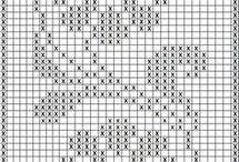 Узоры для филейного вязания