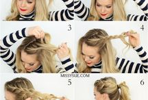 Beauty & Hair Inspiration / Hair Styles, Hair Care, Make-up tutorial, Eyelash Extensions, Braid Styles