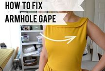 How to fix armhole