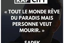 Citations rappeur..