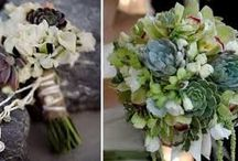Reid wedding: green and grey