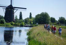 Provincie Zuid-Holland / Toerisme & Recreatie in woord  beeld bezienswaardigheden overnachtingen activiteiten natuur kunst