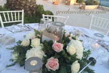 Mykonos Weddings / Weddings on the island of Mykonos, Greece. Destination Weddings with rich content of decoration, flowers, printings, menus, dresses, venues etc. Start planning your wedding in Mykonos worh us today. For more information click on our website www.greekweddings.com