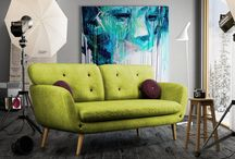 Sofa Retro, Scandi, Shabby , Loft style sofas